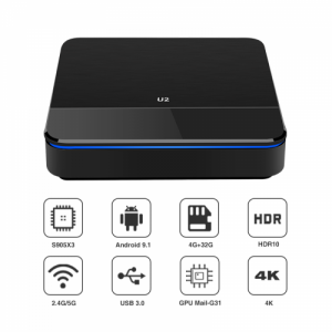 ANDROID 9.1 BOX 4K Media tv smart player