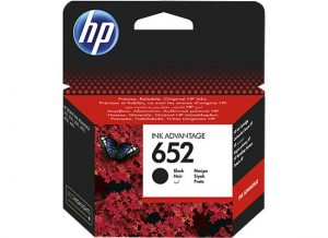 hp no 652 black