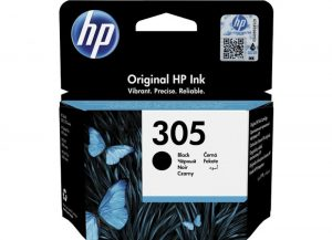 hp 305 ink black